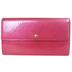 Louis Vuitton monogram pink leather